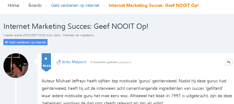affiliate marketing revolutie inloggen