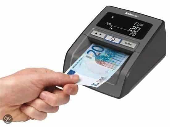 vals geld herkennen elektrisch apparaat