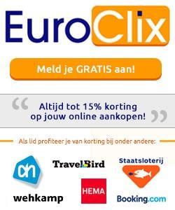 euroclix aanmeld bonus claimen